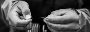 Tying a fly