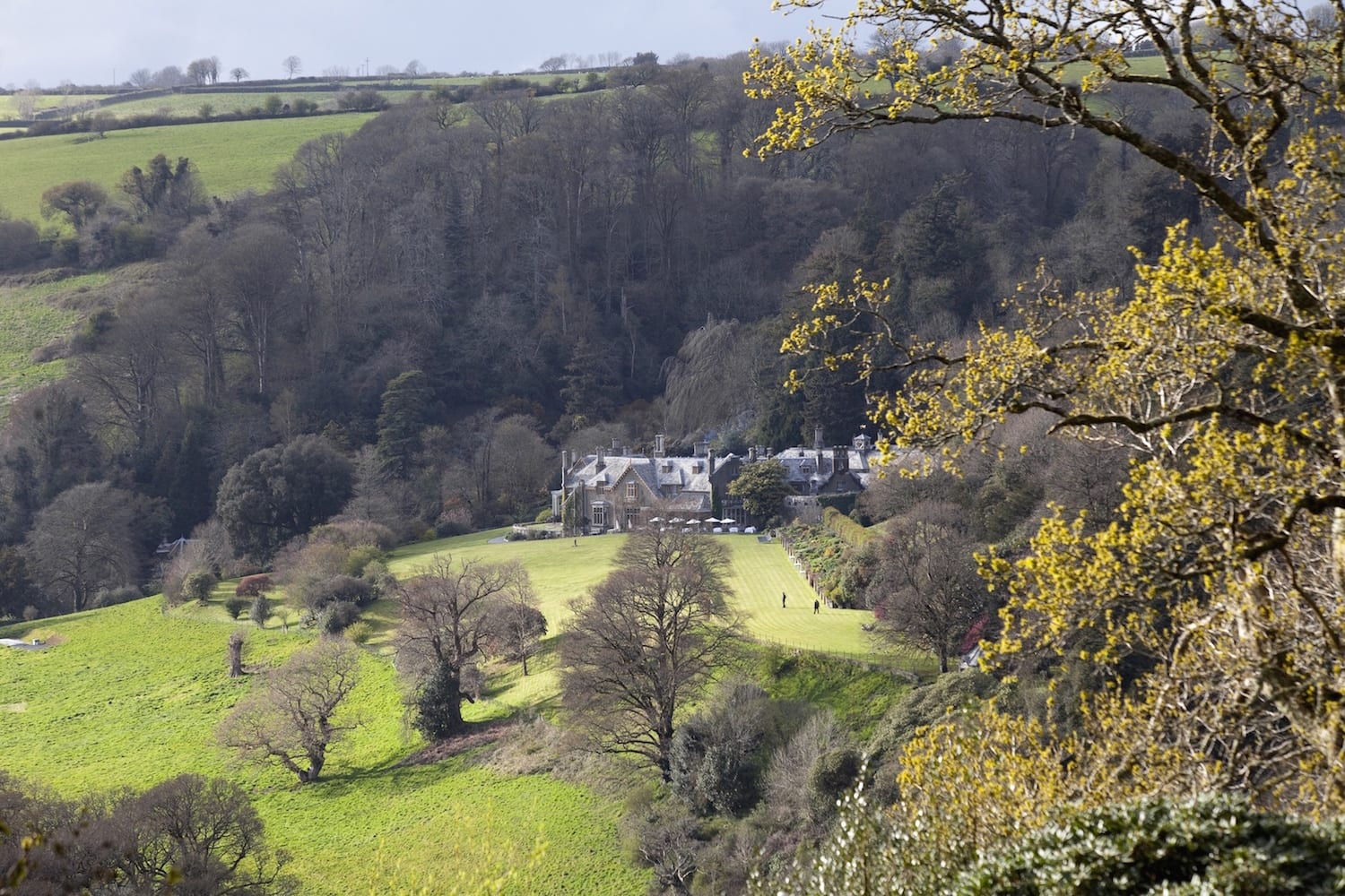 Endsleigh Hotel View from far