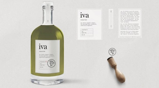 Iva – delicate herb liqueur rediscovered
