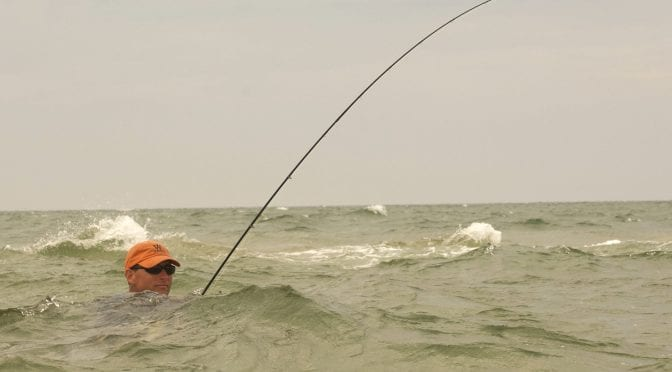 Fly Fishing the Cape Cod Flats for Striped Bass