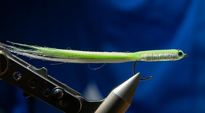 A Simple and Effective Sand Eel Fly Pattern