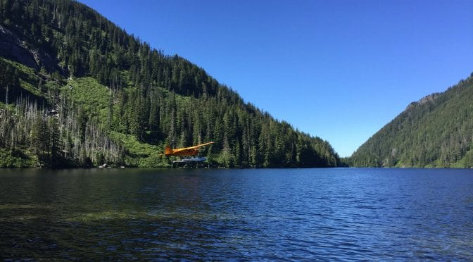 A Float Plane Fly Fishing Trip