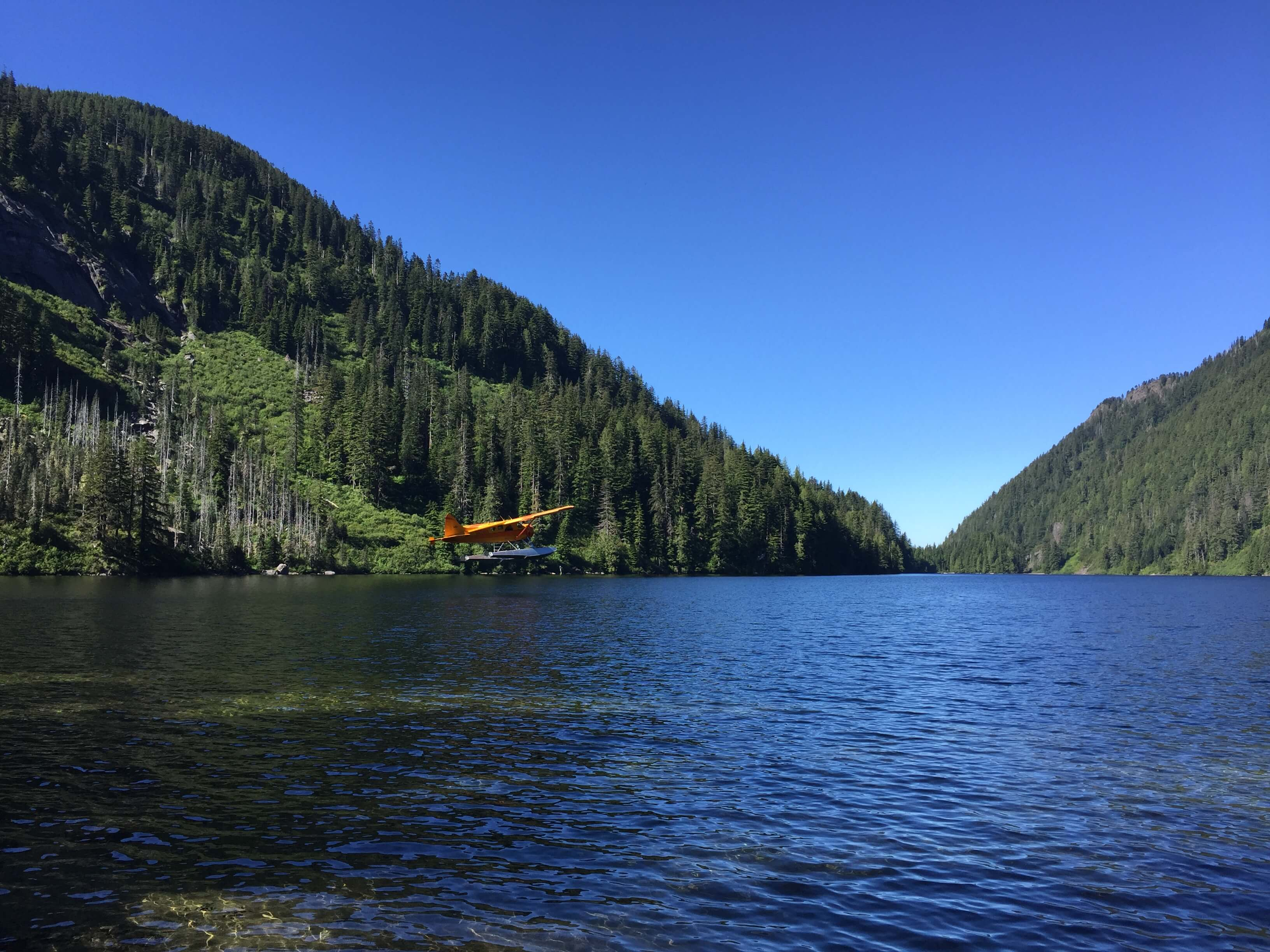 Float Plane Fly Fishing Trip