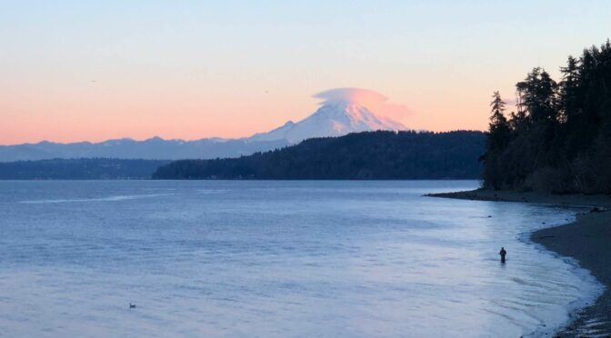Puget Sound Fishing: Winter Salmon on Trout Tackle