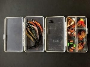 Fly cases for salmon flies and streamers