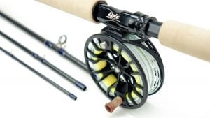 Epic fly rod and reel