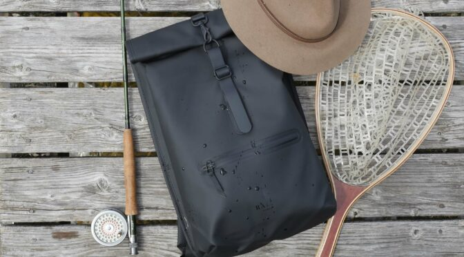 Rains Backpack – A Stylish Option for Fly Fishermen