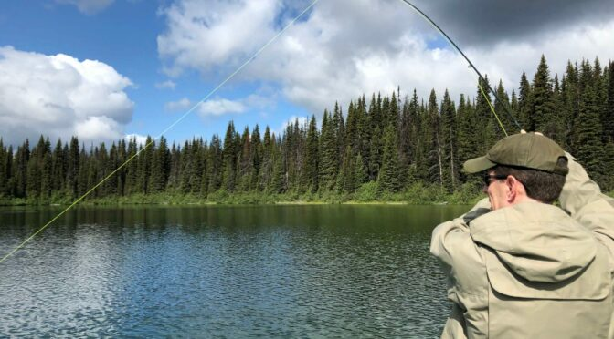 Fishing Camp – Looking for Kamloops Trout