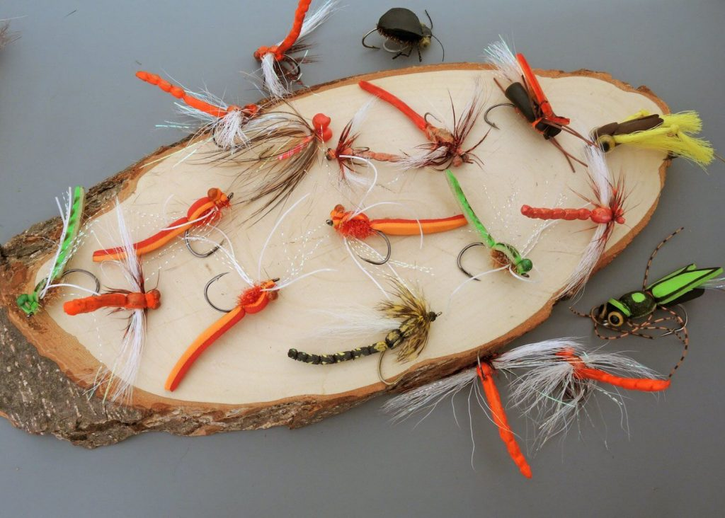 Dragon flies - best flies for bass