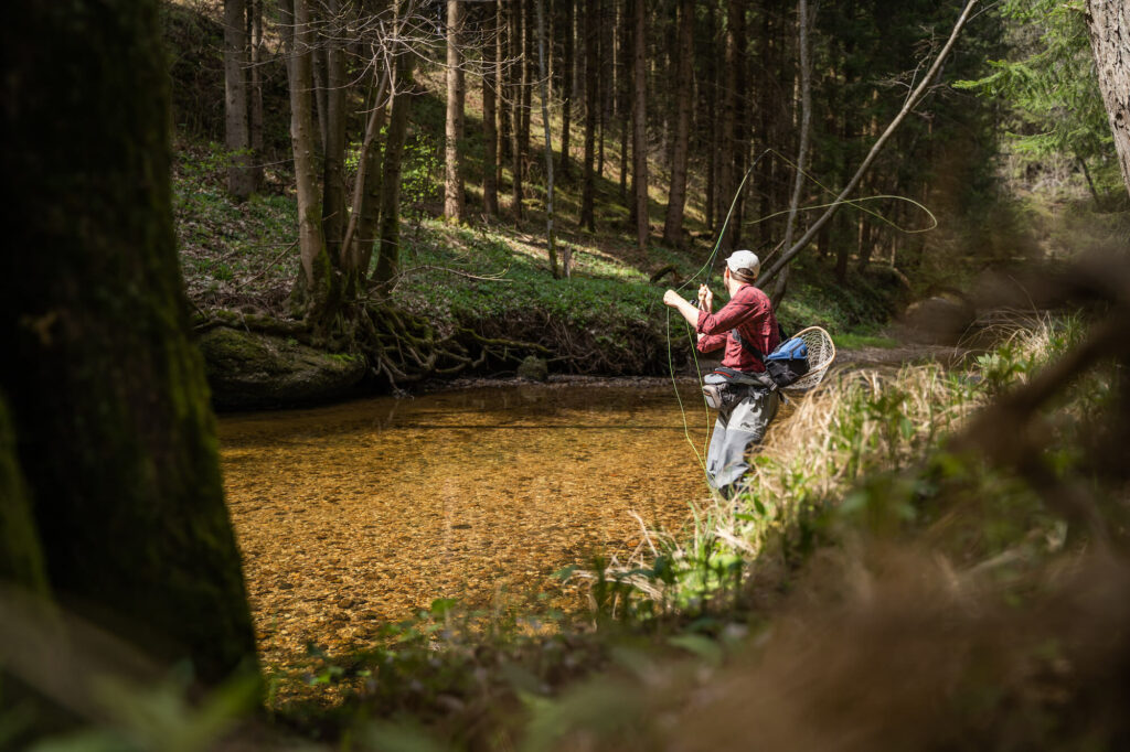 Fly Fishing Small Streams Casting