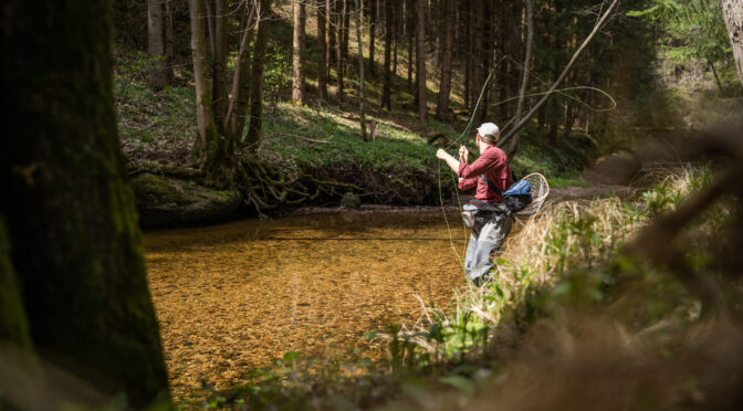 Small Stream Fly Fishing – Kleiner Kamp