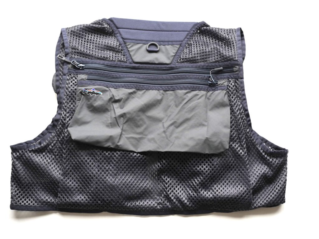 Patagonia Fly Fishing Vest Backside View