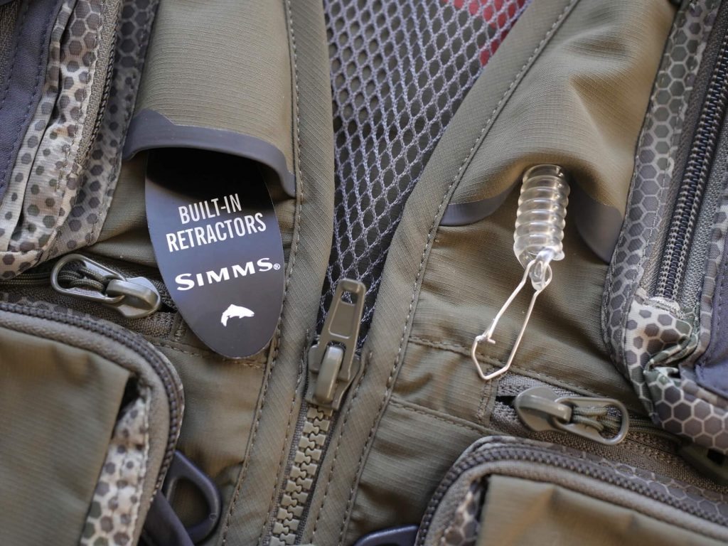 Simms Fly Fishing Vest Retractors