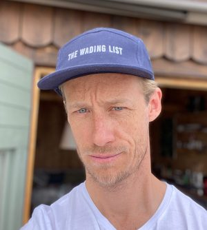 The Wading List Fly Fishing Hat Front