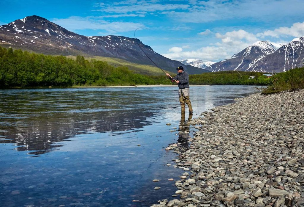 Spey Casting on a big River in Norway