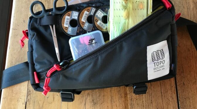 Topo Designs Quick Pack: A Hip Pack Not Only for Fly Fishermen