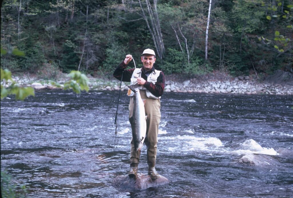 Historical Salmon Sport Fishing in Maine