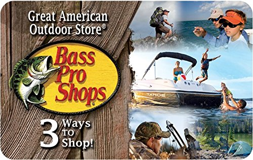Bass Pro Gift Card: Fishing gifts for men