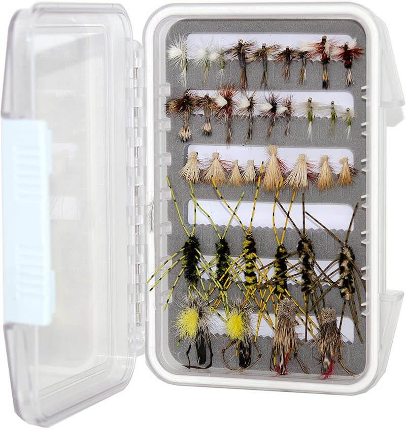 24/36/48 Assorted Trout Fly Fishing Flies Kit