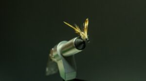 Fly Tying Vise with Fly