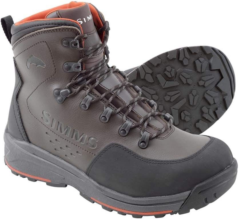 Simms Freestone Wading Boots with Rubber Sole
