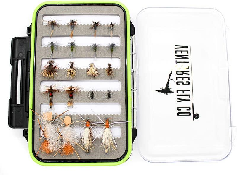 Ventures Fly Co. | 40 Premium Hand Tied Fly Fishing Flies
