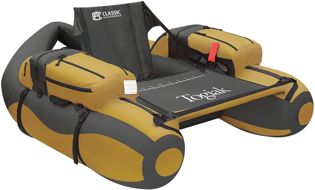 Classic Accessories Togiak Inflatable Fishing Float Tube