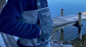 Simms Guide Classic Wader Front Pocket