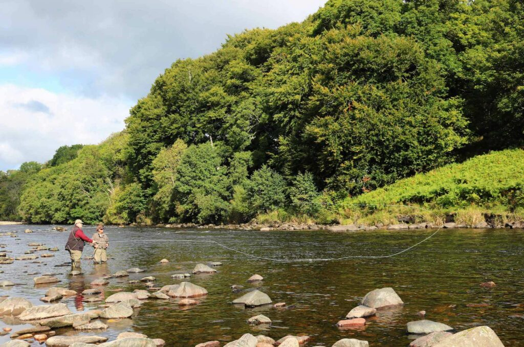 Fly Fisherman at the River Dee, Scotland