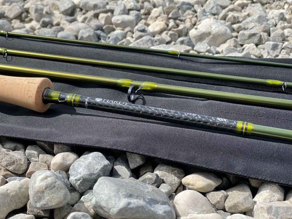 Detail of the Hardy Ultralite NSX Fly Rod