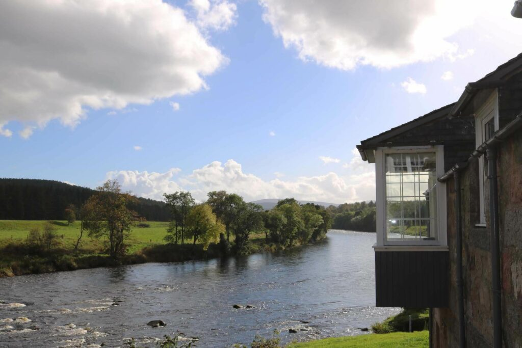 Fishing Hut at the River Dee