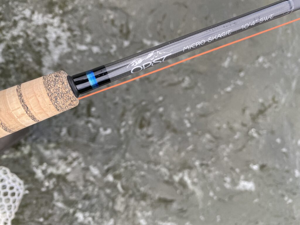 OPST Micro Skagit rod and Commando Smooth Head