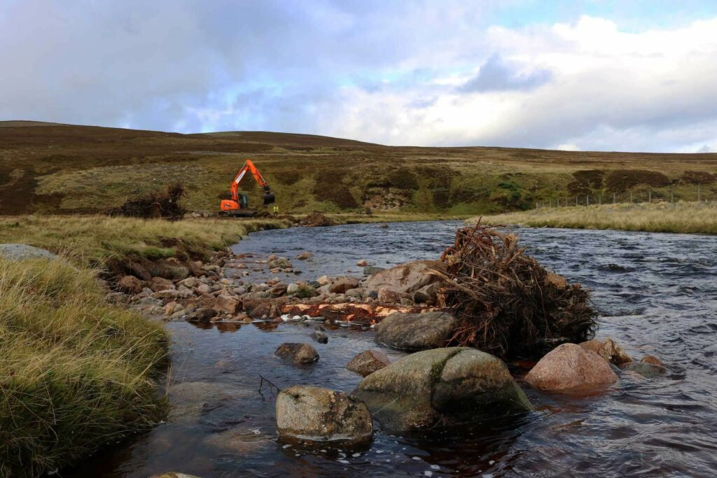 Work on the River Dee, Scotland