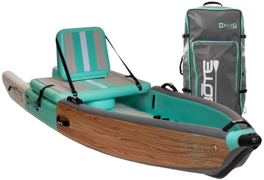 BOTE Deus Aero Inflatable Kayak & Stand Up Paddle Board -One of the best fishing paddle boards