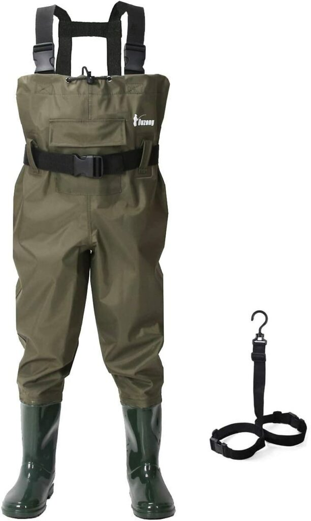 Ouzong Chest Waders for Kids