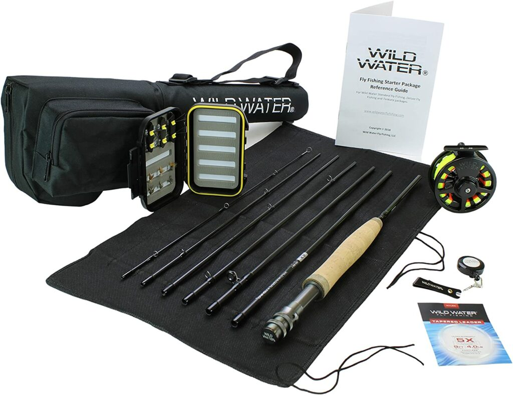 Wild Water Fly Fishing 9 Foot, 7-Piece