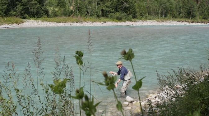 Fly Fishing the (Wild) River Lech