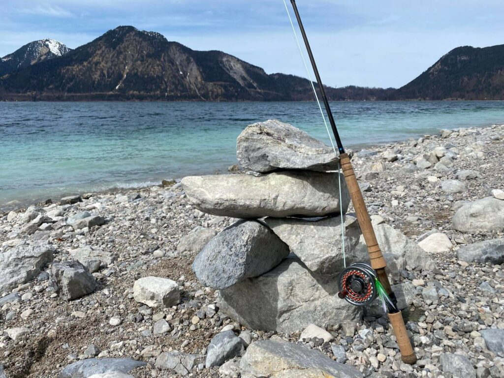 """The OPST Micro Skagit 10'4"""" 5wt with the Commando Smooth on a Vosseler DC3 reel"""